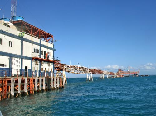Terminal é utilizado no embarque de sal marinho