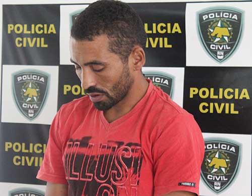 Antônio Marcos foi detido em Porto do Mangue (Foto: Mossoró Notícias)