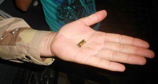 Polícia encontrou várias cápsulas de bala do lado de fora e dentro da casa onde vítimas foram mortas (Foto: Mossoró Notícias).