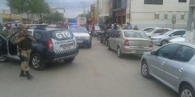 Ocorrência foi atendida pelo GTO (Foto: Luciano Lellys)