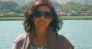 Gizela Mousinho Paiva foi  morta enquanto tentava retirar a filha de veículo (Foto: arquivo pessoal)