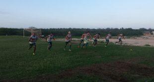Baraúnas treina reforçado para segundo jogo. (Foto: Yhan Victor).