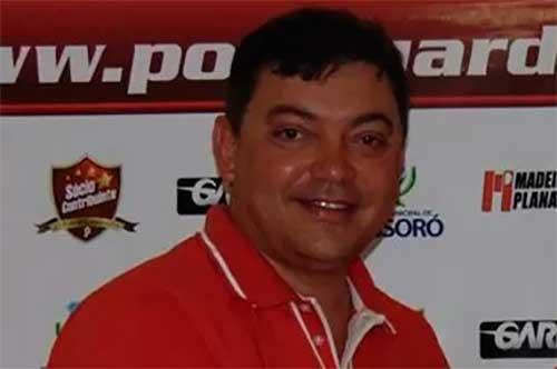 Benjamin Machado, presidente do Potiguar