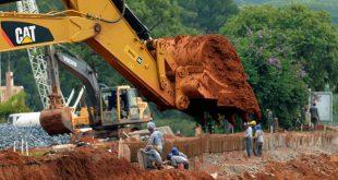 Estudo da CNI mostra que Brasil investe somente 0,45% do orçamento em obras (Foto: CNI).