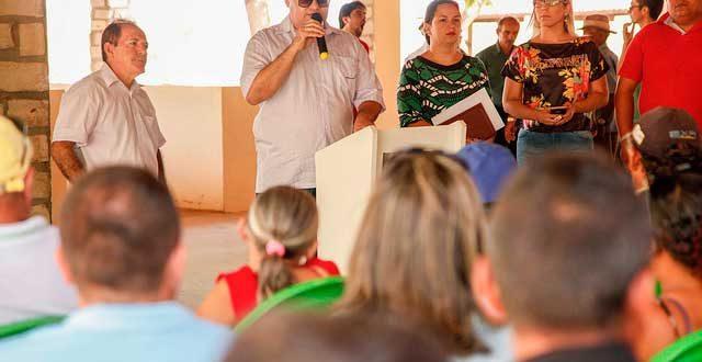 Prefeitura se reuniu com agricultores para discutir o projeto
