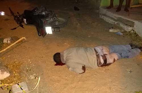 Polícia ainda não sabe motivo do crime (Foto: Mossoró Notícias)