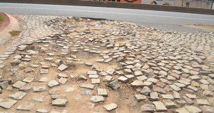 Má conservação das ruas aumenta risco de acidentes (Foto: Cacau).