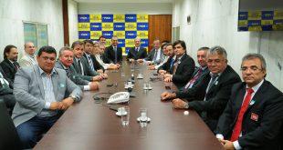 Lideranças mossoroenses participaram da reunião em Brasília - Fotos: Alexssandro Loyola