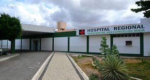 Fábio Mendonça morreu no Hospital Regional Tarcísio Maia.