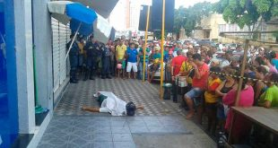 Fábio Ferreira, assassinado (Foto: Luciano Lellys)