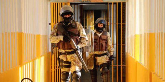 Direção da cadeia acionou a Polícia Militar (PM) para recontagem dos presos (Foto: O Câmera).