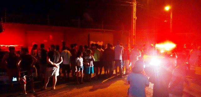 Atentado ocorreu no fim da noite desta segunda-feira Foto: Mossoró Notícias