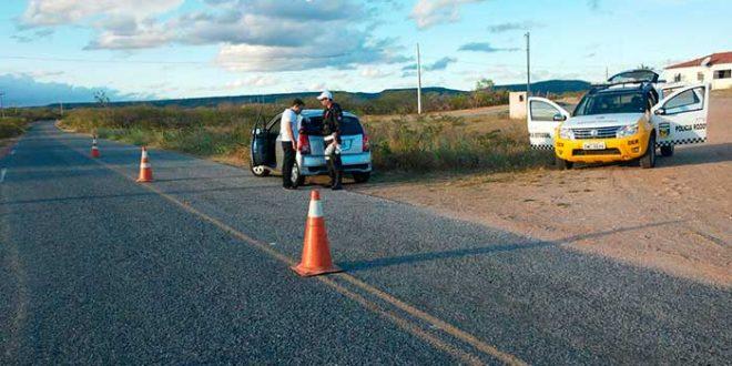 Nas barreiras policiais, o CPRE realizou 445 exames etílicos