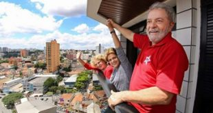 Lula recebeu presidenta em seu apartamento na tarde deste sábado
