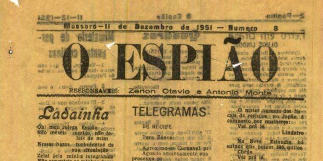 O Espião faz parte da história dos impressos de Mossoró