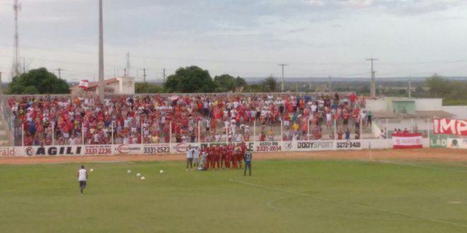Vitória no Edgarzão deu liderança isolada rumo a vaga na Série D. (Foto: César Filho).