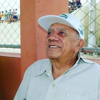 Zoívo Barbosa, ex-fundador e primeiro treinador do Baraúnas. (Foto: Divulgação/site do Baraúnas).
