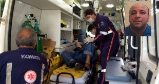 Aurélio Ricardo do Nascimento foi atingido por disparos de pistola ponto 40 (Foto: Passando na Hora).