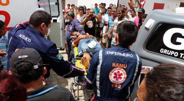 Damião Francisco, de 18 anos, foi socorrido, mas morreu na sala de cirurgia do HRTM (Foto: O Câmera).