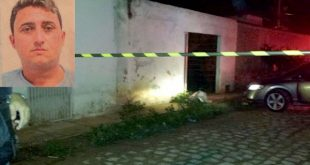 Tiago Wanderley Martins da Silva, de 30 anos, foi atingido por um tiro no olho (Foto: Blog Passando na Hora).