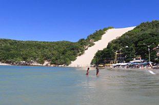 Ponta Negra é uma das praias impróprias para banho