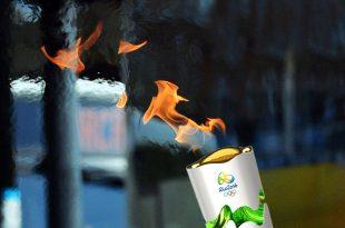 A tocha será acesa na Grécia, na cidade de Olímpia, em 21 de abril