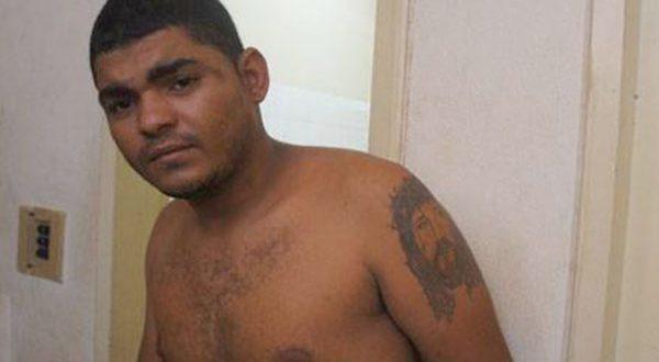Alisson Andrade dos Santos, de 22 anos, já havia sido preso nos anos 2014 e 2015 (Foto: Blog Fim da Linha).