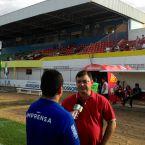 Benjamim Machado aguarda anúncio dos serviços no estádio. (Foto: Marcelo Diaz/ACDP).