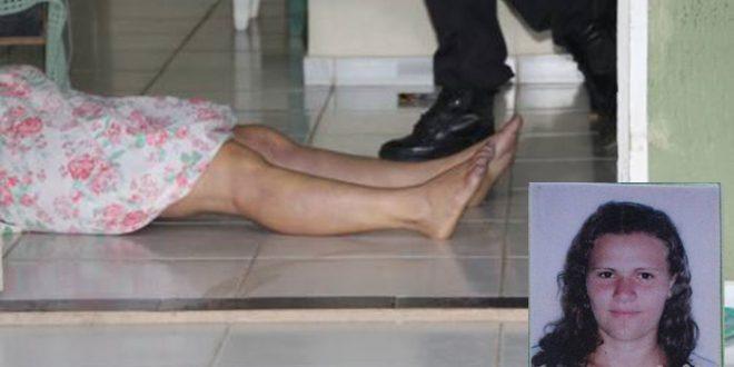 Francisca Edna da Silva, de 28 anos, foi morta com um tiro na cabeça na madrugada desta sexta-feira (Foto: O Câmera).