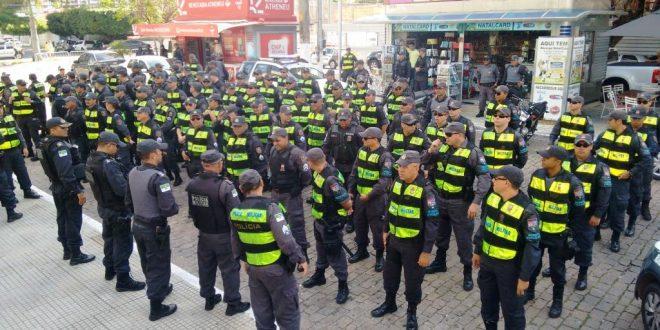 Policiamento atuará nas imediações do Arena das Dunas