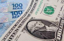 Dólar encerrou o dia com elevada queda na cotação