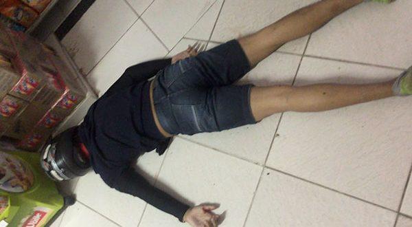 Assaltantes foram surpreendidos pela PM no momento do assalto (Foto: Cedida - Redes Sociais)