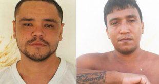 Erik Rodrigues de Araújo (à esquerda) atirou contra Carlos Eduardo (à direita) dentro da unidade.