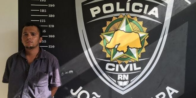 Gustavo Teixeira, preso em flagrante