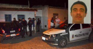 Patrick Jonhathan de Oliveira, 37 anos, foi morto dentro da casa onde morava, no bairro Teimosos (Foto: Fim da Linha).
