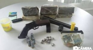 Material apreendido pela polícia no Belo Horizonte