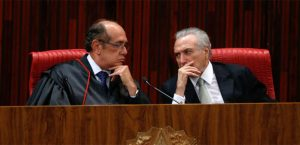 Gilmar Mendes e Michel Temer