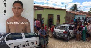 Marcelino (no detalhe), assassinado no Santo Antônio (Foto: Passando na Hora)