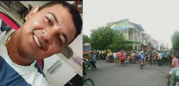 David Rodrigo da Silva, de 24 anos, foi atingido por tiros disparados por uma dupla em uma moto (Foto: O Câmara).