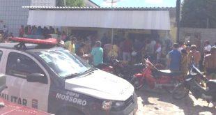 Vítima foi assassinada por dois homens que fugiram numa motocicleta Foto: Passando na Hora