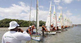 Premiação da corrida de velas acontece às 13h deste sábado (Foto: Agência Petrobras).