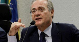 """Presidente do Senado conversa com investigado na Operação Lava Jato sobre """"passar uma borracha no Brasil""""."""