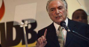 """Presidente interino declarou que vai incentivar de """"maneira significativa"""" as parcerias público-privadas."""