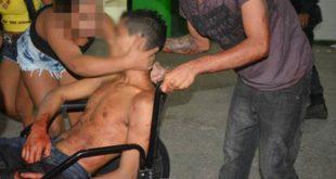 Vítimas foram levadas para o Hospital Regional Tarcísio Maia (Foto: Blog Fim da Linha).