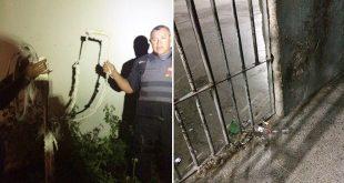 Fugas ocorreram na Cadeia Pública de Caraúbas e no presídio João Chaves, em Natal (Foto: Divulgação PM)
