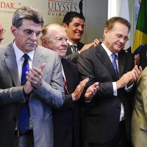 Renan, Jucá e Sarney