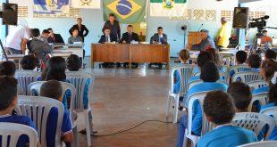 Reunião aconteceu nesta quarta-feira, 15. (Foto: Walmir Alves).
