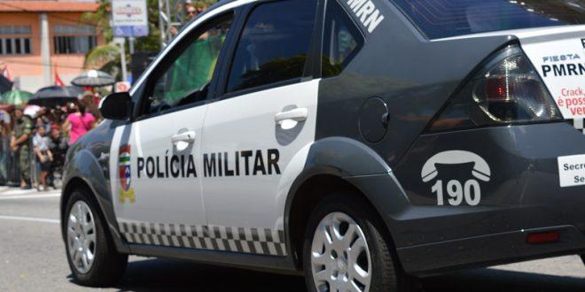 Viatura policial, foto pm do rn
