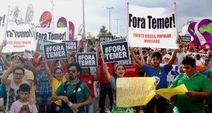 Manifestantes também voltarão às ruas para manifestar insatisfação com o governo do presidente interino Michel Temer (Foto: Deivson Mendes).