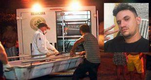 Paulo Cardoso Jales Júnior foi atacado quando estava bebendo acompanhado da esposa (Foto: Blog Fim da Linha).